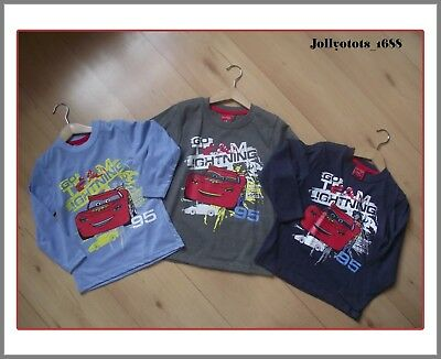 Boys Grey Cotton T Shirt with Disney Pixar Cars McQueen Picture