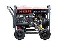 ETQ Eastern Tool & Equipment 4000W Air-cooled 7HP Diesel Generator DG4LE