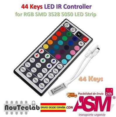 36A 12V-24v 44 key ir remote led controller for 5050 rgb strip light 12x3A
