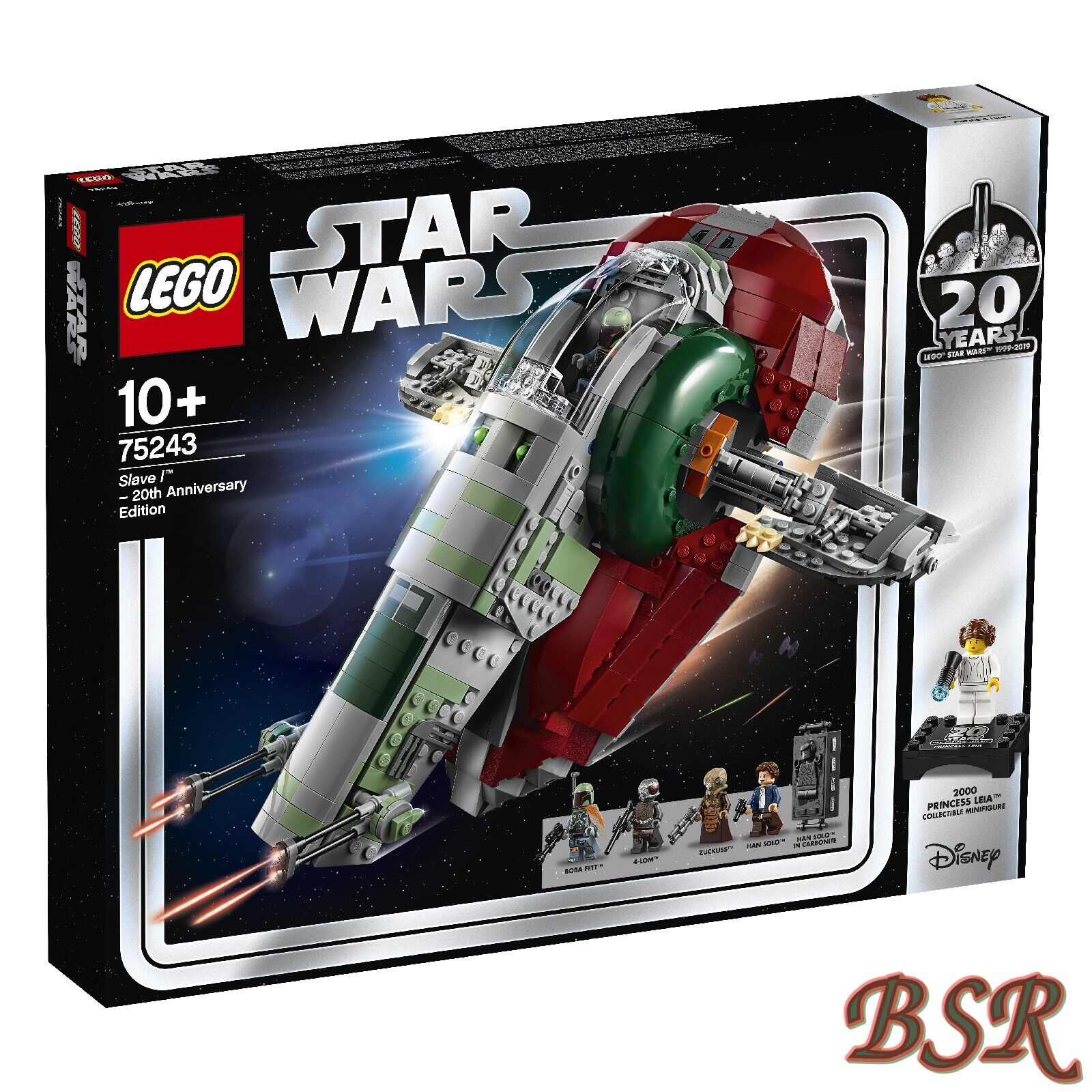 Réservations LEGO ® Star Wars ™  75243 Slave I ™ - 20 ans LEGO STAR WARS  Nouveau neuf dans sa boîte