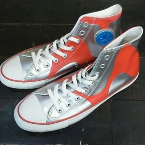 d0d3705fb2ad Very Rare Converse Ultraman High Cut Silver Sneaker From JAPAN Free ...