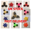 Bangers doigt Spinner main Focus Ultimate SPIN ACIER EDC portant stress jouets UK