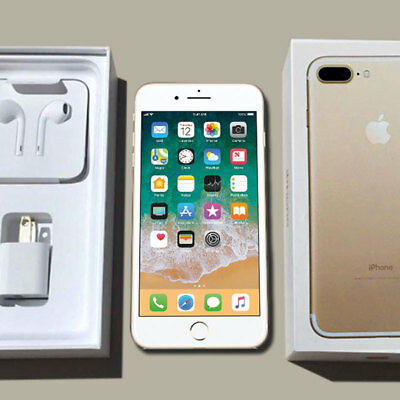 Apple Iphone 7 Plus Gold Unlocked For International Gsm Cdma Smartphone W Box Ebay