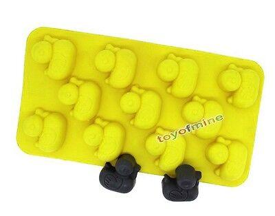 New Duck-shape Silicone Ice Cube Jelly Mold Mini Tray