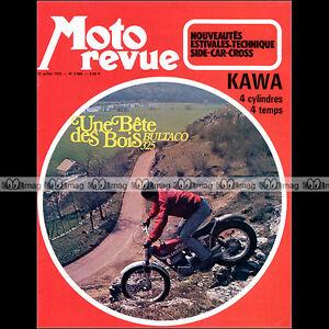 MOTO-REVUE-N-2086-BULTACO-325-KAWASAKI-Z-900-Z1-500-MACH-3-HONDA-CB-750-1972