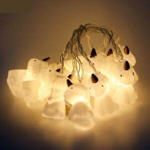 10 led unicorn night string lights lamps party decor hanging