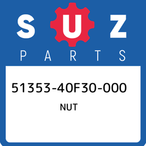 51353-40F30-000-Suzuki-Nut-5135340F30000-New-Genuine-OEM-Part