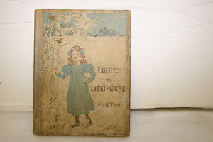 Lights-to-Literature-BOOK-TWO-Vintage-year-1900-RAND-McNALLY-amp-CO