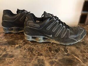 Nike Shox NZ SL Black Flint Grey 366363 006 Mens Size 12 Pre ...