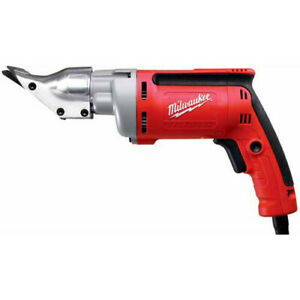 Milwaukee 6852-80 6.8 Amp 2500 SPM Heavy-Duty 18 Gauge Shear Reconditioned