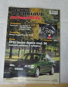 100% Vrai Revue Technique Automobile Rta 614 1999 Opel Vectra Mod. 96 Essence 4 Cylindres Retarder La SéNilité