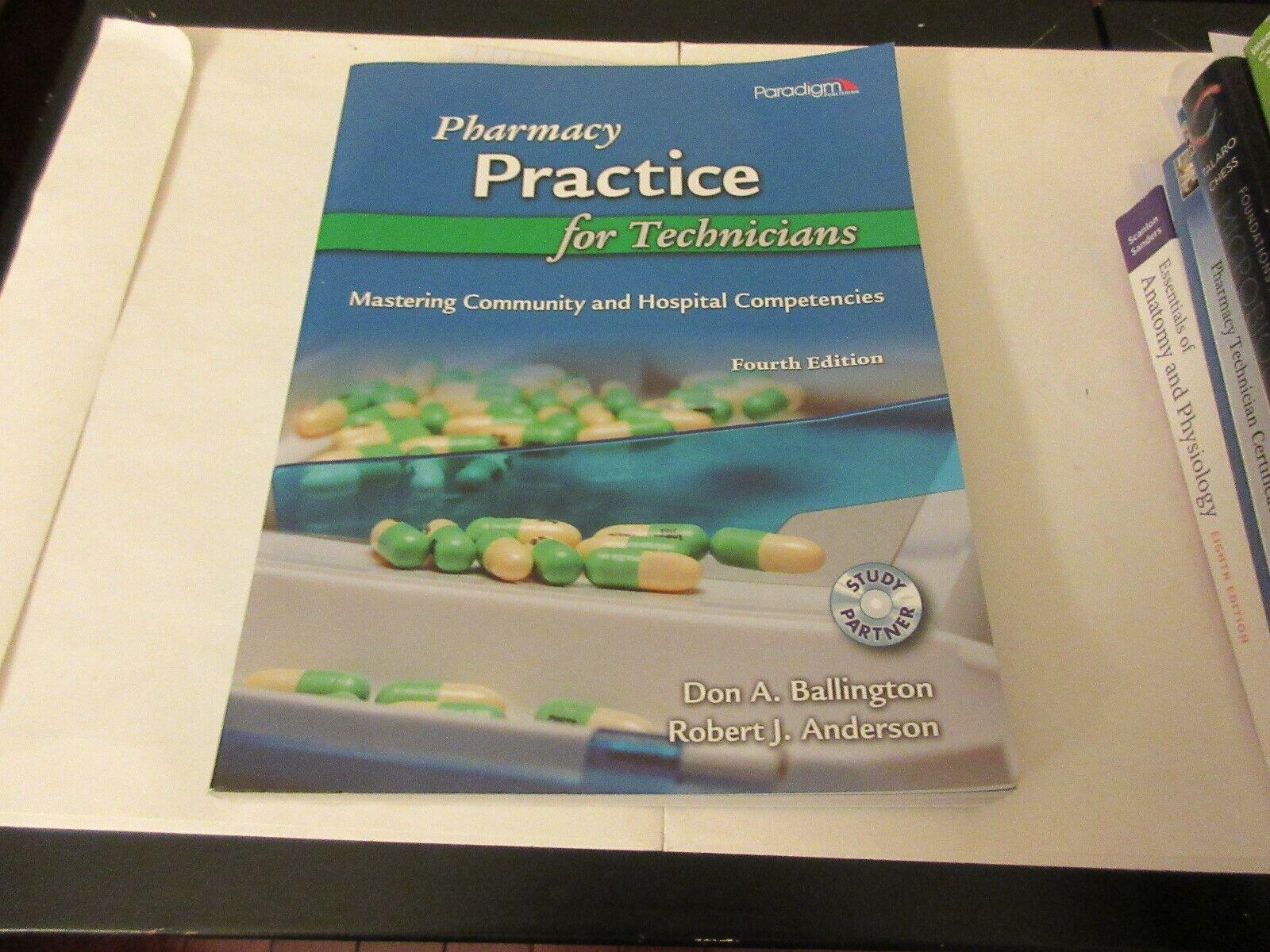 Pharmacy Practice for Technicians , Don A. Ballington ,