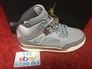 Nike Air Jordan Spizike Wolf Grey Dark Bronze GS Grade