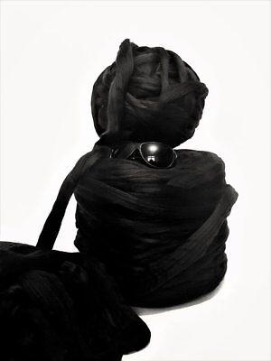 4kg Black Mammoth® Giant Super Chunky Bulky Thick Arm Knitting Mahoosive Yarn