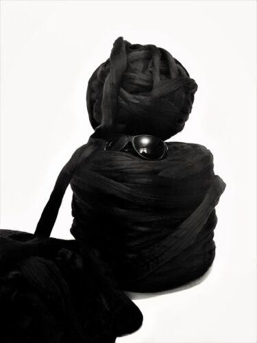 10kg Bale Black Mammoth® Giant Super Chunky Bulky Arm Knitting Mahoosive Yarn