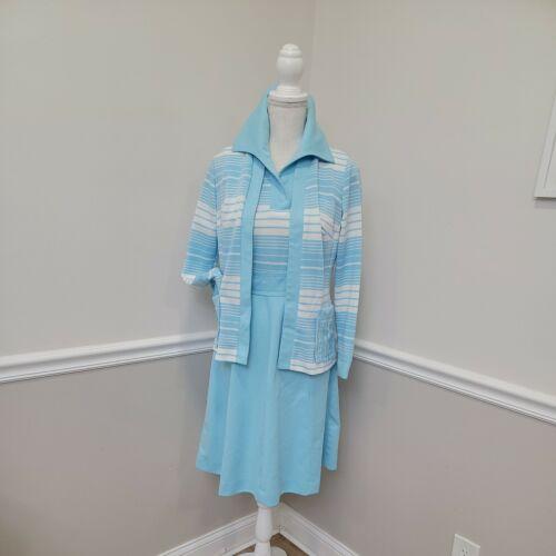 VTG 1960s MOD EMPRESS OF DALLAS DRESS 2pcs Mod Gog