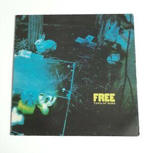 FREE TONS OF SOBS GATEFOLD VINYL LP ISLAND PINK RIM UK 1970