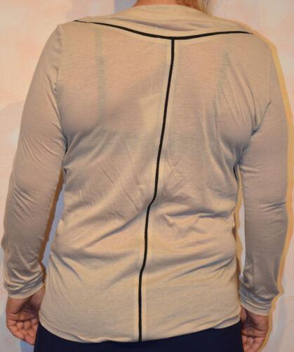shirt Francois Marithé Beige Tout Neuf Girbaud Tee Manches Longues 44 Taille dxIOwqXUq