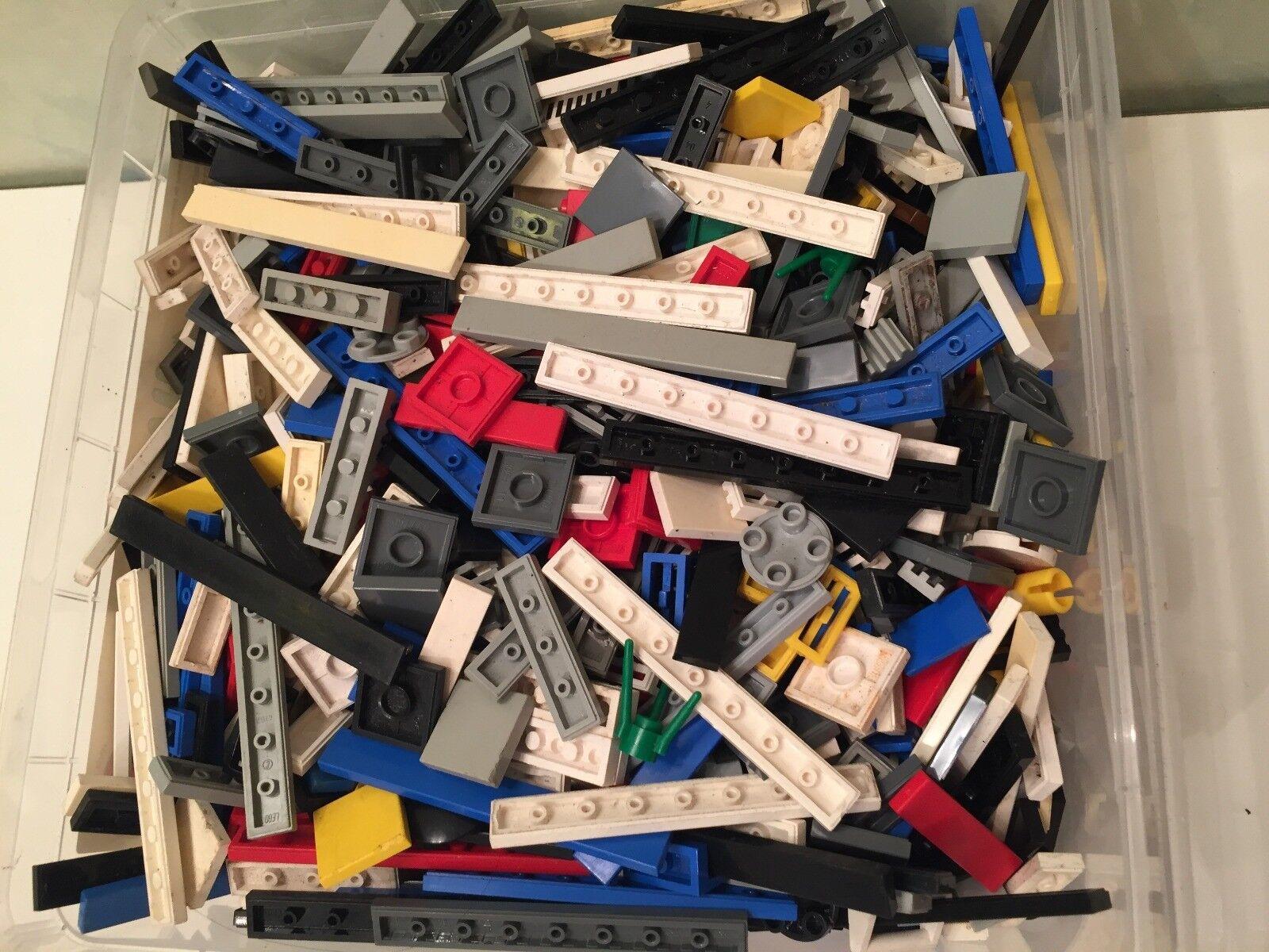 Joyeuses fêtes * Meilleure Meilleure Meilleure offre! Enorme lot lego plaque lisse Plusieurs Centaines de pièces !! 7ec0fe