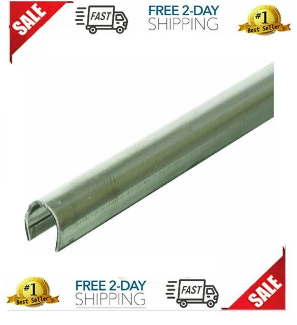 Door Track Repair Cap 4ft 2pcs Replacement Sliding Glass Door Stainless Steel