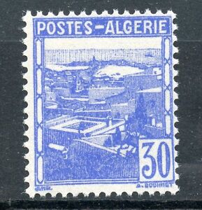 Africa Algeria Symbol Of The Brand Stamp Timbre Algerie Neuf N° 171 ** Vue D'alger Strong Resistance To Heat And Hard Wearing