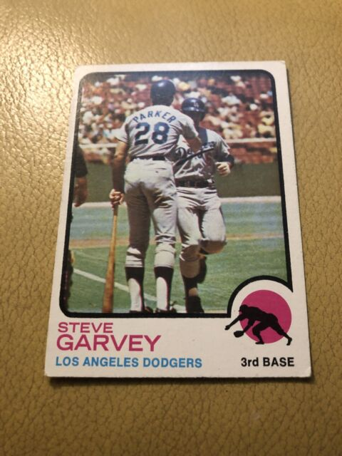 1973 Topps Steve Garvey baseball card #213. Los Angeles Dodgers