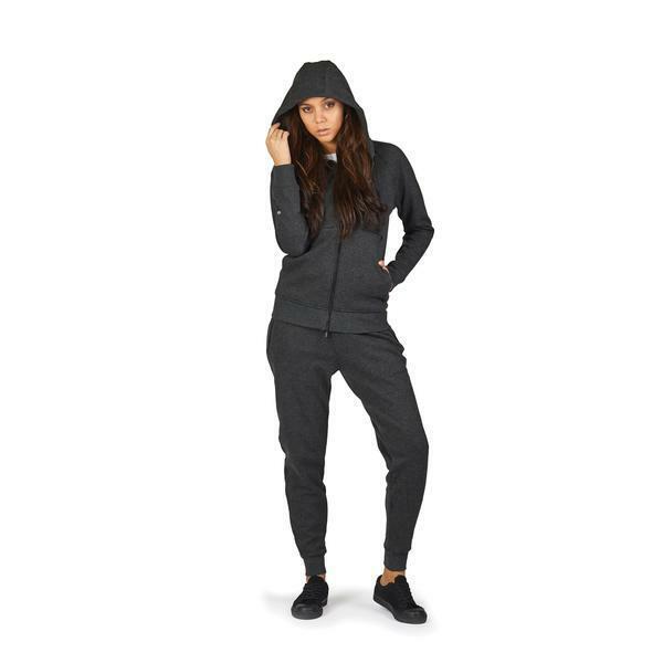 Pacsafe Transit Women's Anti Theft Travel Hoodie Heather Charcoal XL 9000112705