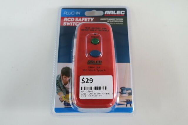 NEW ARLEC Single Outlet Safety Switch - PB91