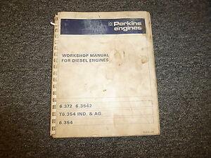manual perkins 6354