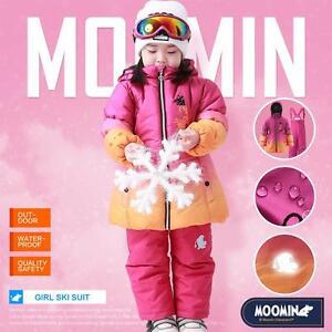 6da59a63f Moomins Girls Snowsuit Snow Suit Ski Suit Kids Winter Jacket Pants ...