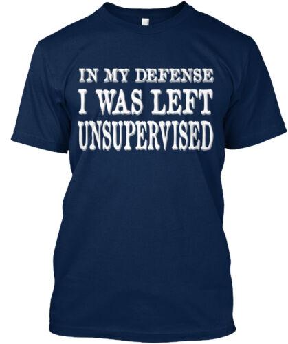 Qualité dans ma défense m/'a laissé sans surveillance-Standard Unisexe T-Shirt S-5XL