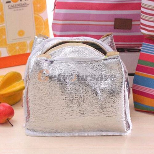 Portables Insulated Thermique Refroidisseur Lunch Bag Box porter cas Pique