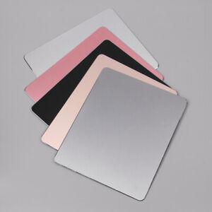 Aluminum-Alloy-Mouse-Pad-Computer-Gaming-Mice-Mat-Metal-For-PC-Laptop