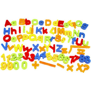 26 Magnetic Letters Children Kids Alphabet Magnets In Lower Case Learning  New.