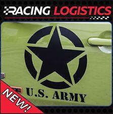 JEEP 2x Big Stern US Army Renegade Wrangler Patriot Rubicon Willys Military 4x4