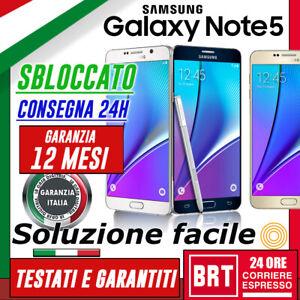 SMARTPHONE-SAMSUNG-GALAXY-NOTE-5-SM-N920V-32GB-64GB-SBLOCCATO-12-MESI-GAR-3-4