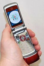 Motorola Moto KRZR K1 Verizon Wireless Camera Flip Cell Phone RED K1m krazer -C-