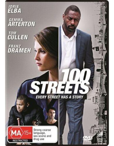 1 of 1 - 100 STREETS DVD R4 Drama Idris Elba LIKE NEW