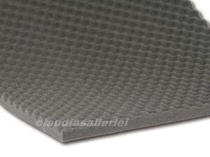 TOP Akustik Noppenschaum Schaumstoff Schalldämmung  für Wände Wand Gehäuse usw