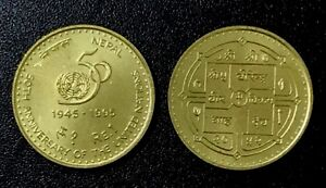 1PC Gold-plated Coin Nepal Buddha Commemorative Coin Collection B$CA