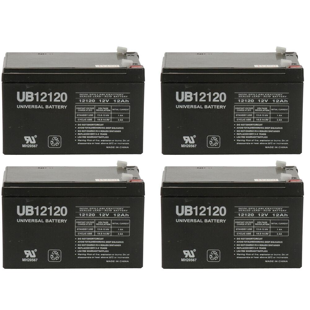 Replacement Battery UPG D5744 12V 12Ah Sealed Lead Acid SLA