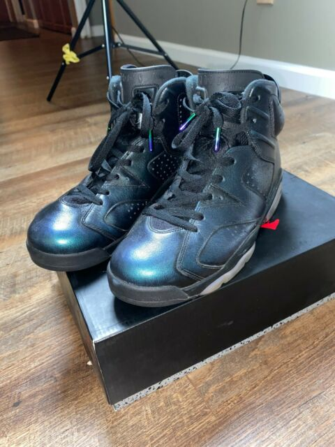 Size 10.5 - Jordan 6 Retro All Star - Chameleon 2017