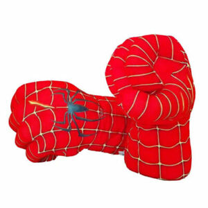 New Hulk Spider-Man Plush Hands Boxing Fist Glove Cosplay Props Kids Toys Gift