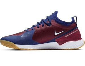 NIKE-FC-React-Mens-Team-Red-White-Blue-Soccer-Shoes-AQ3619-604-Size-11-W-O-Box