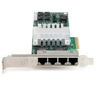 Intel PRO/1000 PT QuadPort LP Server Adapter EXPI9404PTLSP20 Full Profile