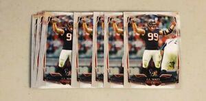 9-card-lot-J-J-Watt-cards-Texans-2014-Topps-Chrome-29
