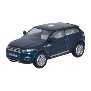Oxford-76RR003-Range-Rover-Evoque-dunkelblau-metallic-Massstab-1-76-201420-NEU