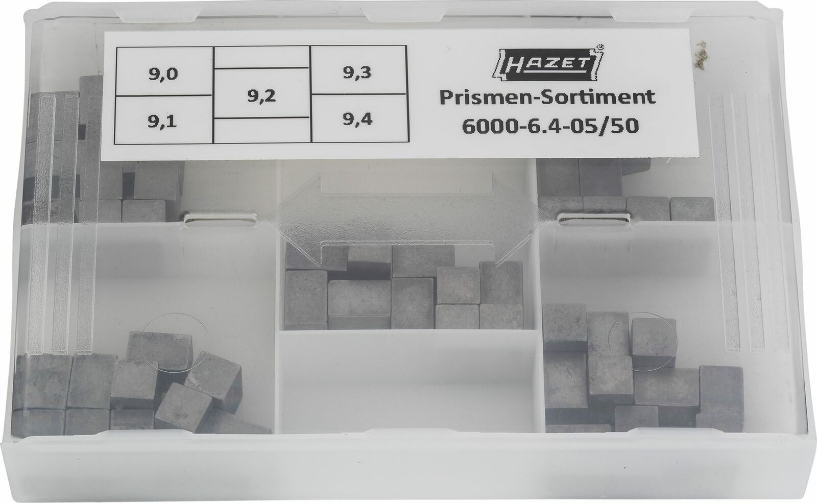 HAZET Replacement set 6000-6.4-05 50