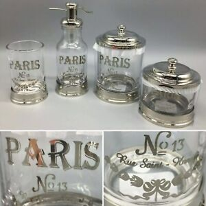 Bella Lux Bath Accessory Set Paris Soap