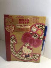 Hello Kitty Journal Anchor On Cover 40 Sheets Notebook With Pen 2012 New Paper